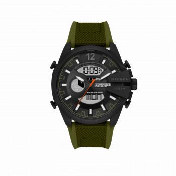 Diesel Mega Chief Analog-Digital Green Nylon and Silicone Watch