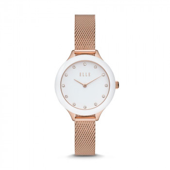ELLE Passy Two-Hand Rose Gold-Tone Stainless Steel