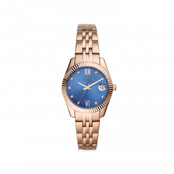 Scarlette Mini Three-Hand Date Rose Gold-Tone