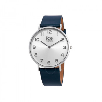 CITY Tanner-Silver Dial Blue Strap