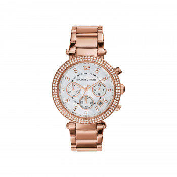 Michael Kors Parker Chronograph Rose Gold-Tone