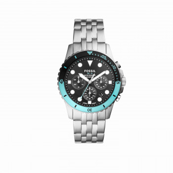 FB-01 Chronograph Stainless Steel Watch
