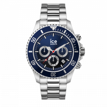 ICE steel marine silver chrono