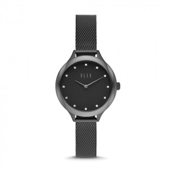 ELLE Passy Two-Hand Black Stainless Steel