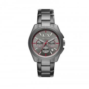 Armani Exchange Chronograph Gunmetal Stainless Steel Watch