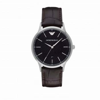 Emporio Armani Renato Black/Leather