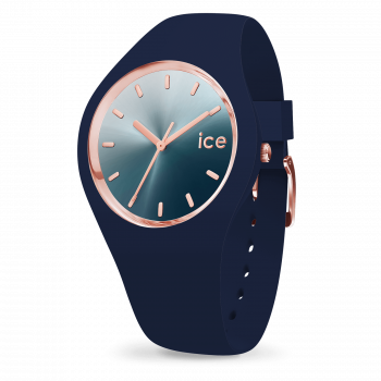 ICE sunset - Blue