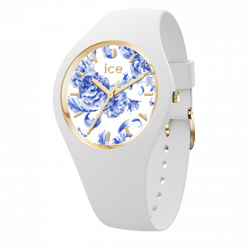 ICE blue White Porcelain-Medium