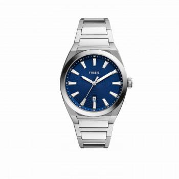 Everett Three-Hand Date Stainless Steel Watch