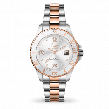 ICE steel Silver rose-gold