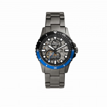 FB-01 Automatic Smoke Stainless Steel Watch